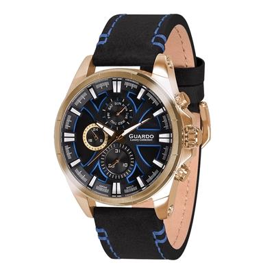 عکس نمای روبرو ساعت مچی برند گوآردو مدل S1631-4