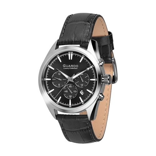 عکس نمای روبرو ساعت مچی برند گوآردو مدل S01662-1