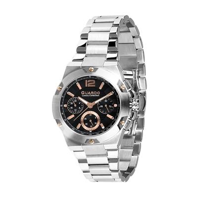 عکس نمای روبرو ساعت مچی برند گوآردو مدل S01527-3