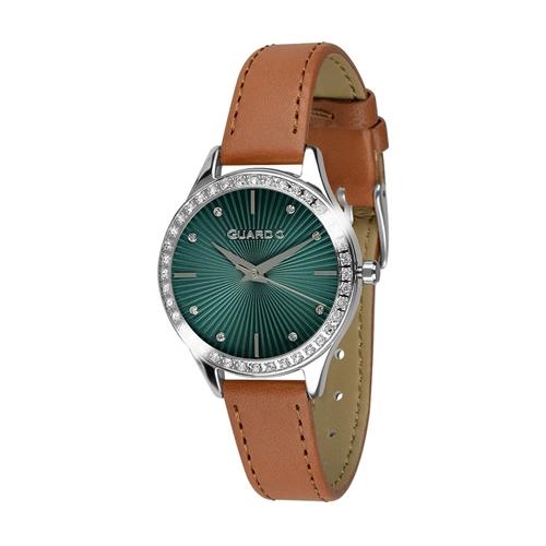 عکس نمای روبرو ساعت مچی برند گوآردو مدل 012241-2