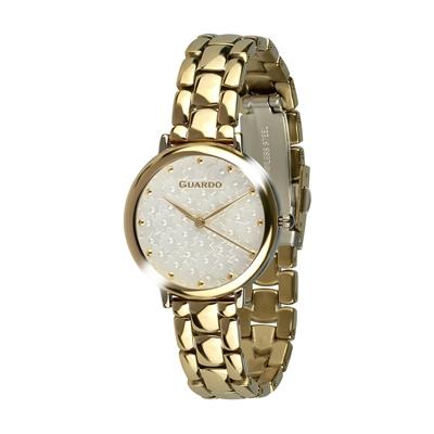 عکس نمای روبرو ساعت مچی برند گوآردو مدل 012503-4