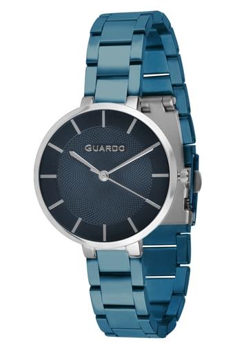 عکس نمای روبرو ساعت مچی برند گوآردو مدل 012505-6
